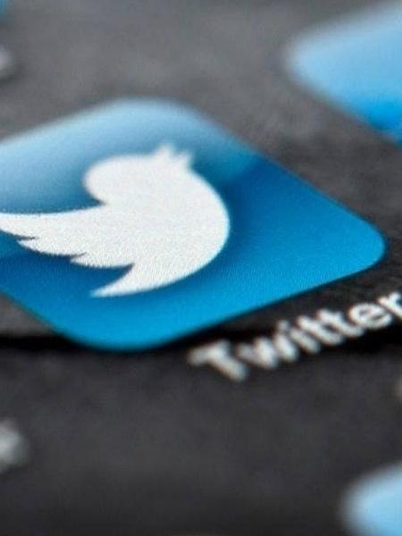 Twitter ícone no celular - Reprodução