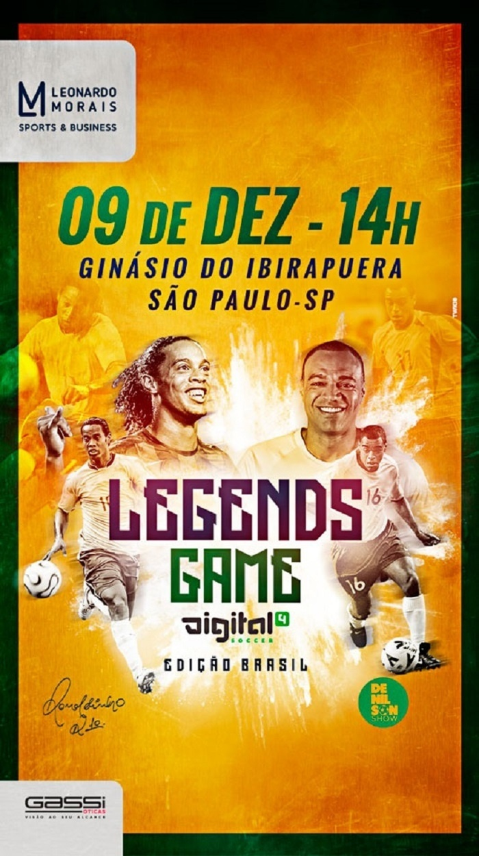 Denilson Ronaldinho desafio