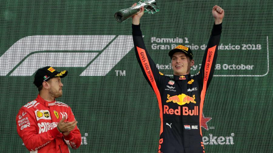 O próximo GP da F1 será no México. Ano passado, Verstappen venceu, com Vettel em segundo - Henry Romero/Reuters