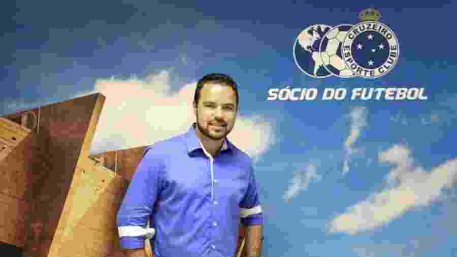 Leandro Freitas, gerente de marketing do Cruzeiro, se envolveu em confusão no Mineirão - Divulgação/Cruzeiro