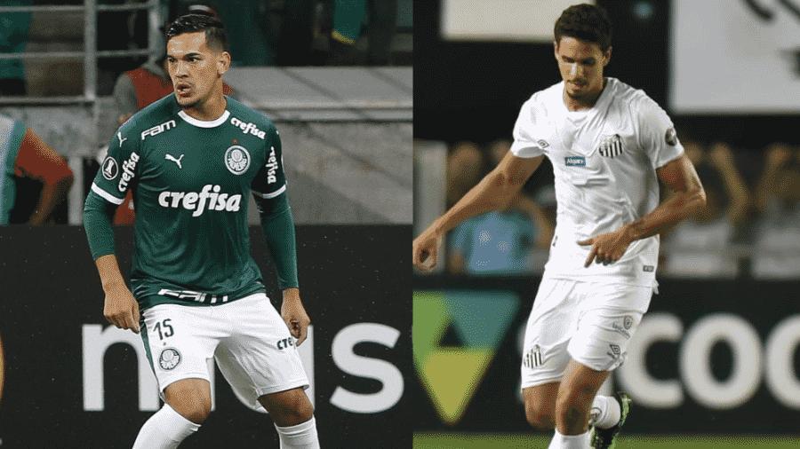 Cesar Greco/Ag. Palmeiras / Ivan Storti/Santos FC
