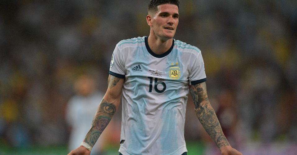 Rodrigo de Paul, jogador seleção da Argentina