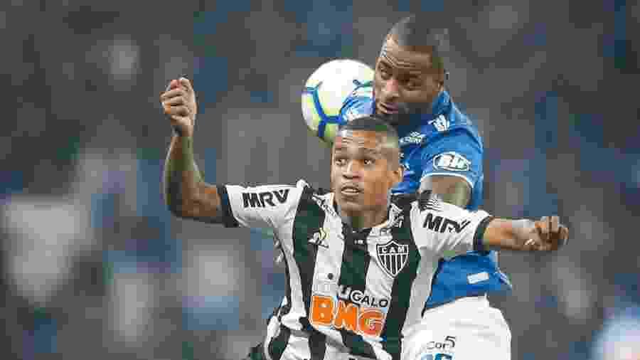 Cruzeiro aplicou 3 a 0 no arquirrival Atlético-MG na ida das quartas de final da Copa do Brasil - Thomas Santos/AGIF