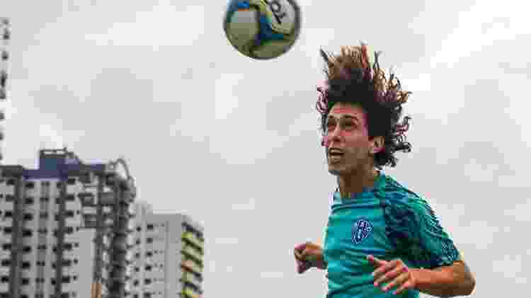 Nicolas é jogador do Paysandu, em Belém (PA) - Jorge Luiz/Paysandu