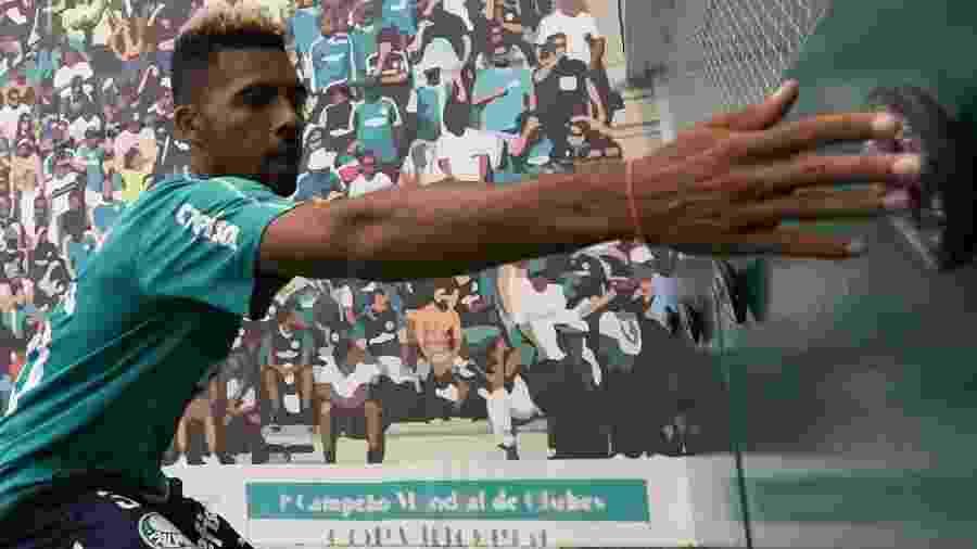 Matheus Fernandes vinha treinando com o Palmeiras nos últimos dias antes se ser liberado para negociar com o Barcelona - Cesar Grecco/Ag. Palmeiras