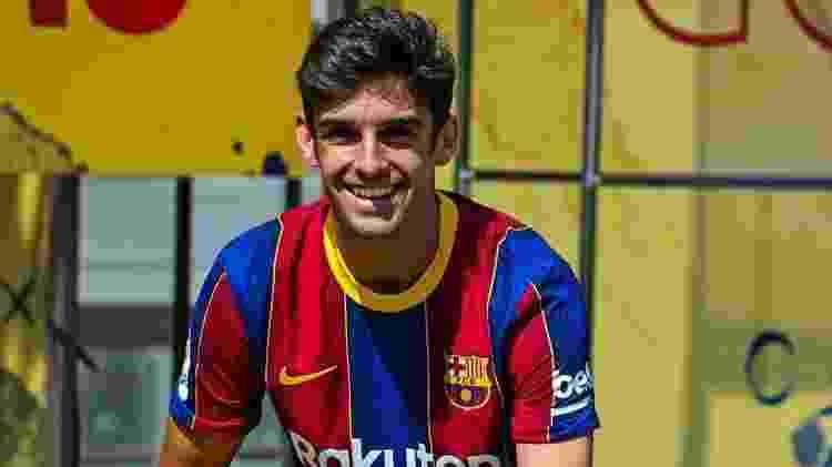 Francisco Trincão, novo reforço do Barcelona - Reprodução/Instagram - Reprodução/Instagram