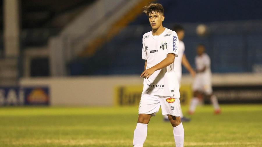 Gabriel Pirani tem negociação difícil para renovação de seu contrato - Pedro Ernesto Guerra Azevedo/Santos FC