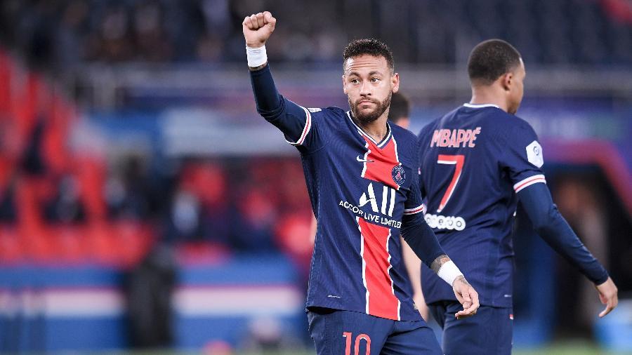 Neymar e o elenco do PSG embarcam rumo à Turquia para encarar o Istanbul pela Liga dos Campeões - Divulgação/Ligue 1