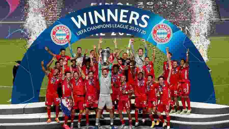 Atual campeão, Bayern tem o sexto elenco mais caro desta temporada - Getty Images