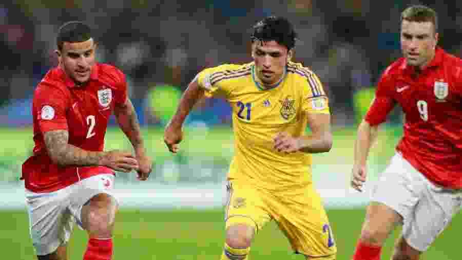 Nascido no Brasil, Edmar disputou 15 partidas pela seleção ucraniana - Gleb Garanich/Reuters