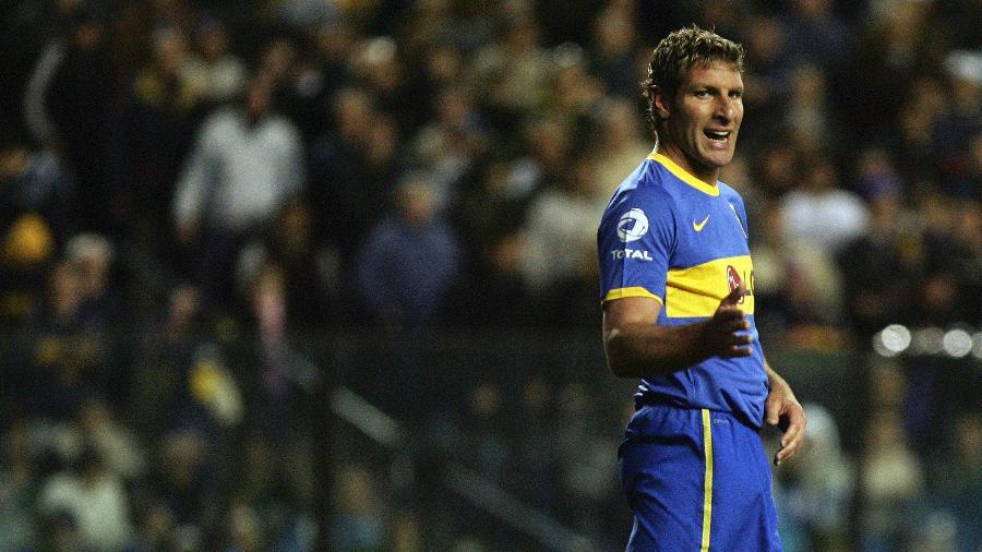 Martin Palermo, durante jogo do Boca Juniors, em 2010 - Maxi Failla/LatinContent via Getty Images