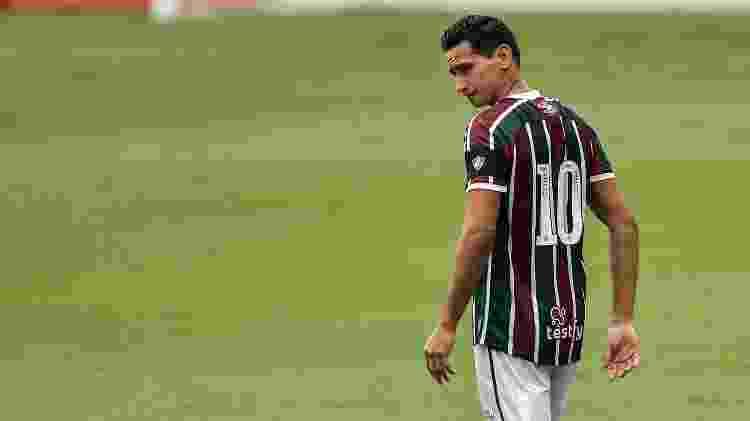 Paulo Henrique Ganso começou bem, mas cansou em derrota do Fluminense no Carioca - Thiago Ribeiro/AGIF - Thiago Ribeiro/AGIF