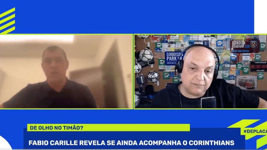 Carille diz que resolver a situação financeira deve ser o foco da diretoria do Corinthians - Reprodução