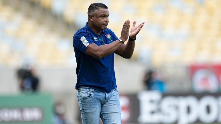 Roger Machado, técnico do Fluminense - Jorge Rodrigues/AGIF