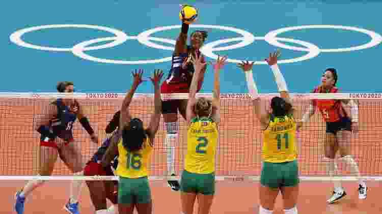 Brasil, vôlei feminino - Valentyn Ogirenko/Reuters - Valentyn Ogirenko/Reuters