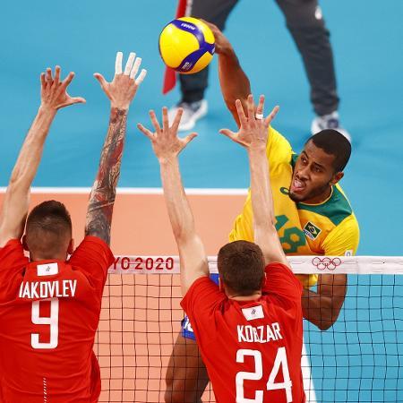 Brasil e Rússia se enfrentam nos Jogos Olímpicos de Tóquio - Carlos Garcia Rawlins/Reuters
