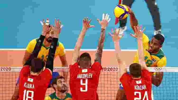Brasil e Rússia se enfrentam nos Jogos Olímpicos de Tóquio - Carlos Garcia Rawlins/Reuters - Carlos Garcia Rawlins/Reuters