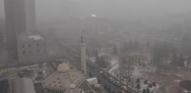 Tianjin teve o mais alto alerta de poluição em dezembro do ano passado