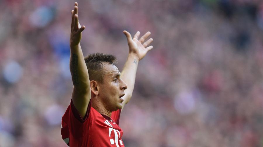 Desde 2011 na Alemanha, Rafinha atuou em 260 partidas com a camisa do Bayern de Munique - Christof Stache/AFP
