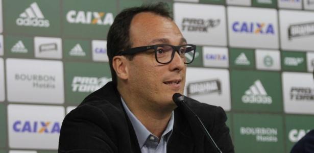 Alex Brasil, novo diretor de futebol do Coritiba