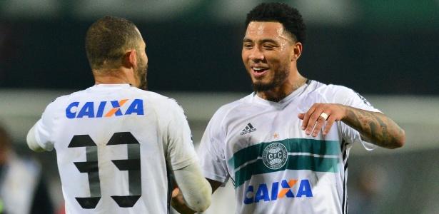 Kazim, atacante do Coritiba, tem negociação encaminhada com o Corinthians - Jason Silva/AGIF