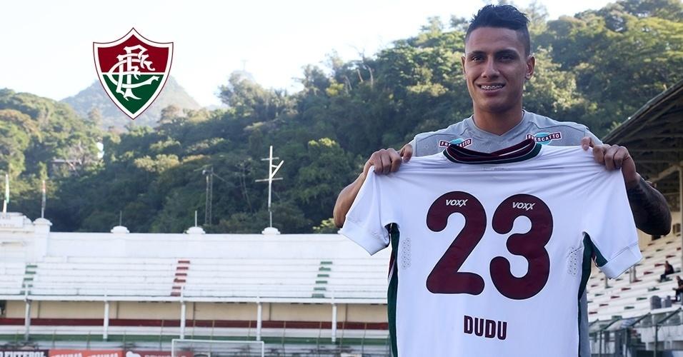 Montagem - Dudu (meia) - Do Coritiba para o Fluminense