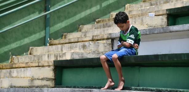 Richard, de 7 anos, foi flagrado pelo fotógrafo Nelson Almeida