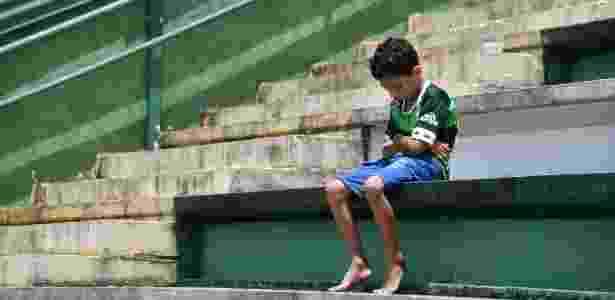 Chape menino - Nelson Almeida/AFP Photo - Nelson Almeida/AFP Photo