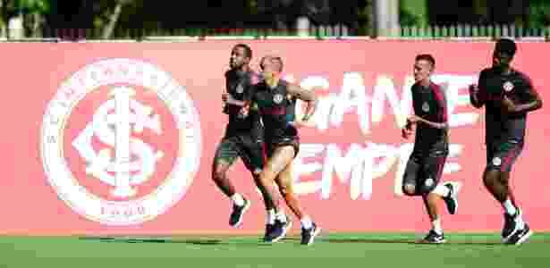 Jogadores do Internacional começarão pré-temporada no CT Parque Gigante - Ricardo Duarte/Inter