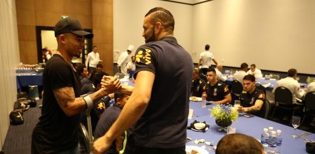 Ex-palmeirense acompanhará Brasil x Paraguai na Arena Corinthians; santista é dúvida - Lucas Figueiredo/CBF