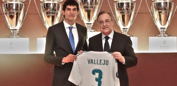Vallejo foi apresentado nesta sexta-feira