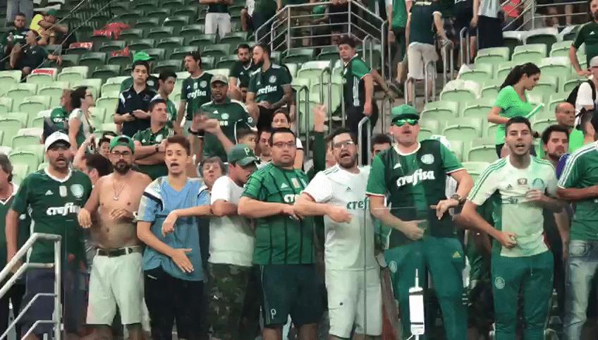 Repórteres relatam ofensas machistas que ouviram de palmeirenses  assista -  09 04 2018 - UOL Esporte 1edfc783c64c1