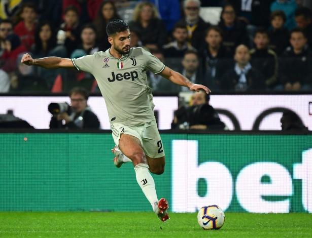 Alemão Emre Can defende a Juventus desde o começo da temporada 2018/19 - Miguel Medina/AFP