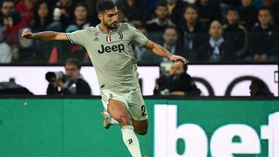 Emre Can, meio-campista da Juventus - Miguel Medina/AFP