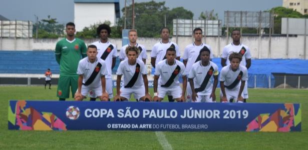 Equipe sub-20 do Vasco na Copa São Paulo de futebol júnior