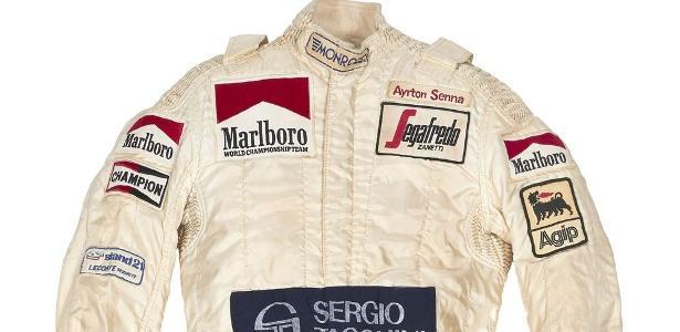Site  Macacão de estreia de Senna na F-1 é leiloado por mais de R  400 mil  - 13 02 2019 - UOL Esporte 732c6c13da29d
