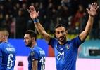 Veterano brilha, e Itália goleia Liechtenstein; Morata dá vitória à Espanha - Miguel MEDINA / AFP