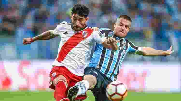 Ramiro deixou Grêmio na virada do ano e lugar dele no time segue em disputa - Lucas Uebel/Getty Images