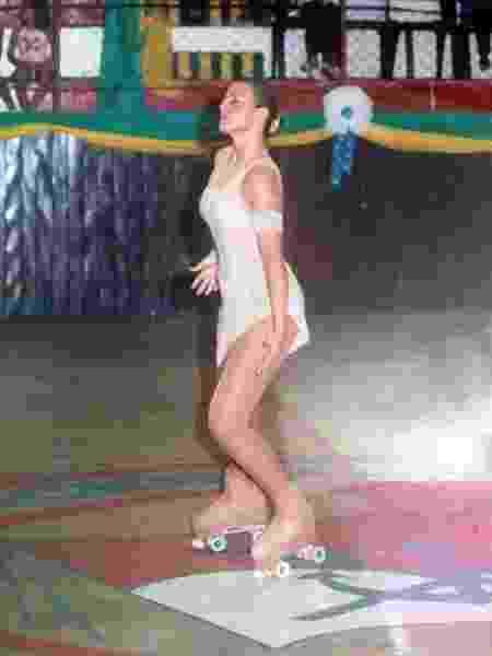 Aposentadoria da patinação profissional foi em 2005 - Acervo pessoal