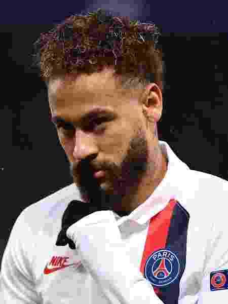 Neymar cemm jogo contra o Galatasaray - FRANCK FIFE / AFP