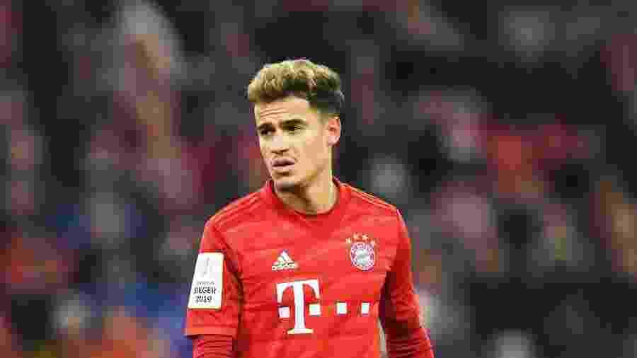 Philippe Coutinho, em baixa no Bayern de Munique, quer voltar ao Liverpool - Christof Stache/AFP