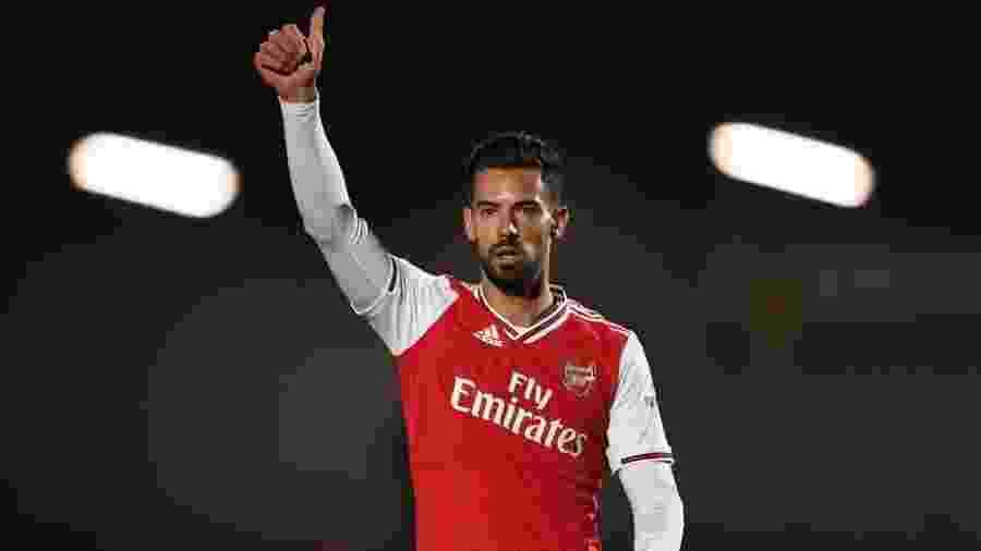 Pablo Marí em ação pelo time sub-23 do Arsenal - David Price/Arsenal FC via Getty Images