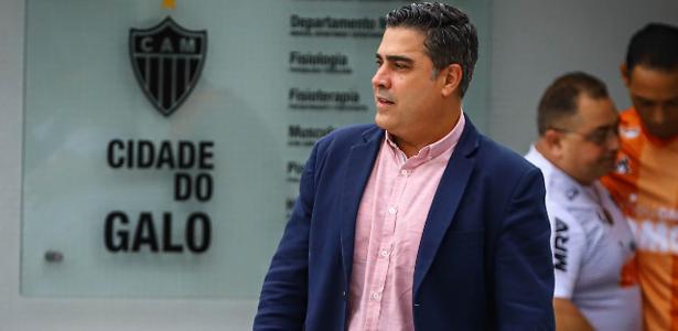Insatisfeito com a arbitragem, presidente do Atlético-MG vai à CBF reclamar
