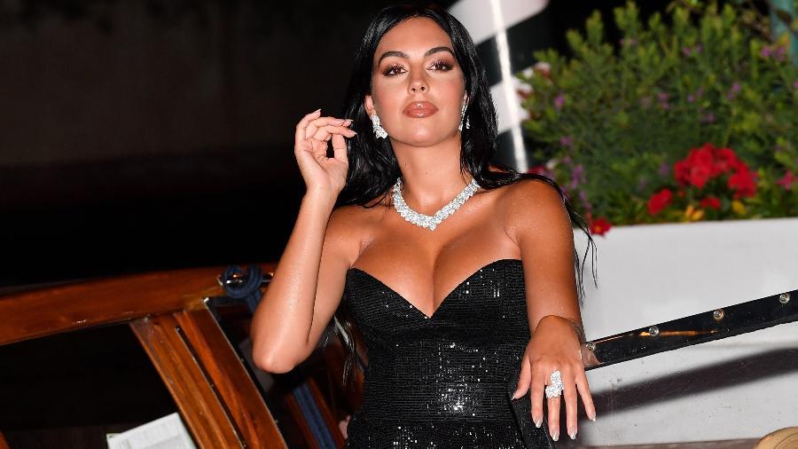 Georgina Rodriguez, mulher de Cristiano Ronaldo, terá própria série documental na Netflix - Jacopo Raule/Getty Images
