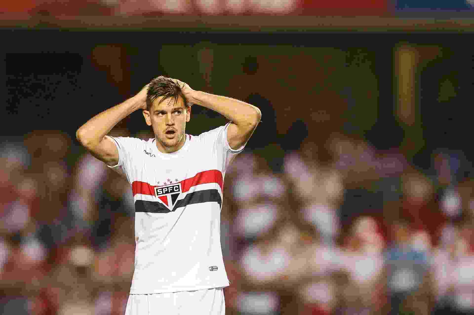 Rafael Toloi foi vendido à Atalanta por 3,5 milhões de euros (R$ 13,9 milhões). São Paulo embolsou R$ 3,5 milhões - Julia Chequer/Folhapress