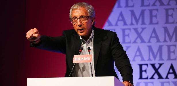 O empresário Abílio Diniz
