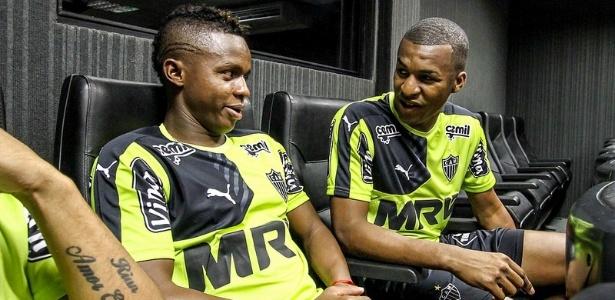 Cazares e Erazo são amigos, companheiros de seleção equatoriano e agora querem brilhar no Atlético-MG