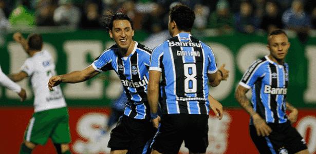 Pedro Geromel se lesionou na última partida e desfalca o Grêmio por três semanas - Lucas Uebel/Grêmio