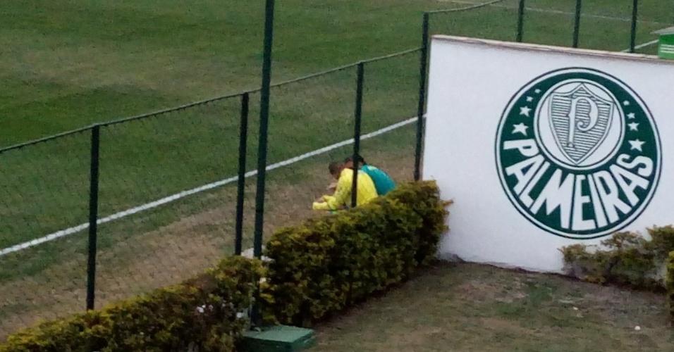 Vitor Hugo Cuca Palmeiras conversa