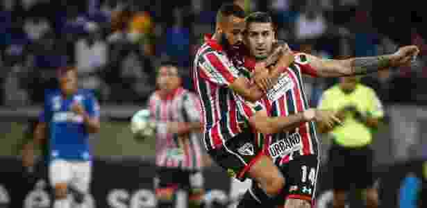 São Paulo venceu Cruzeiro apesar de eliminação - Thomás Santos/AGIF